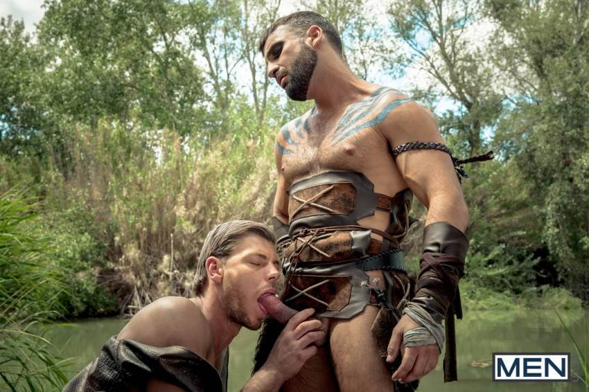 Gay of Thrones Abraham Al Malek Toby Dutch suckingrones Abraham Al Malek Toby Dutch sucking