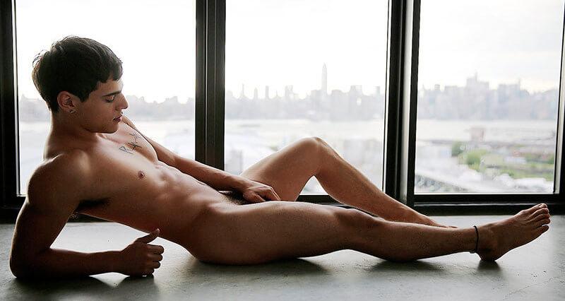 Levi Karter naked floor