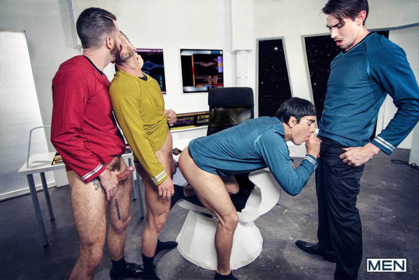 Star Trek gay porn orgy