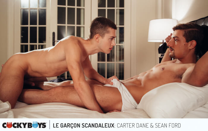 CockyBoys Sean Ford Carter Dane Le Garcon